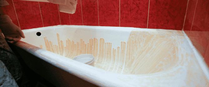 Что выбрать - реставрацию ванны эмалью или акрилом, сравнение способов